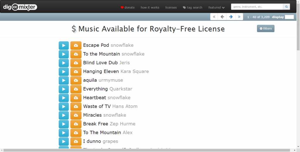 Image Result For Royalty Free Music Long Tracks