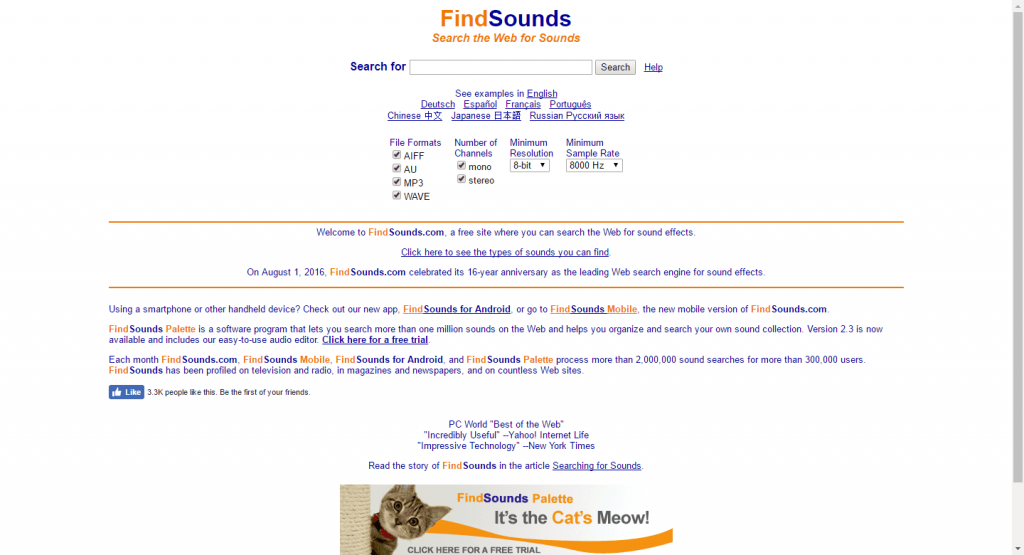 52 Cool places to find music and sound effects for your videos (one